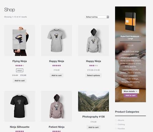 WooCommerce Storefront Product Hero