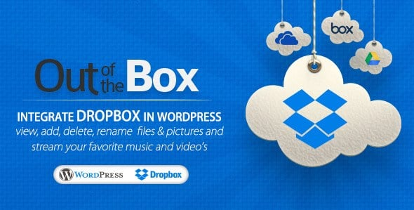 Out-of-the-Box – Dropbox plugin for WordPress 1 13 13