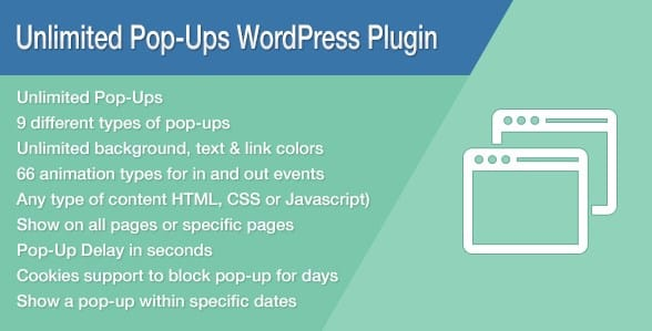 Unlimited Pop-Ups WordPress Plugin