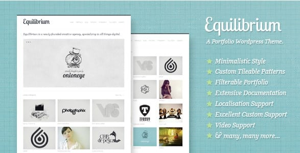 Equilibrium - Clean and Modern WP Portfolio Theme