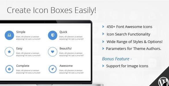 Icon Box for Visual Composer