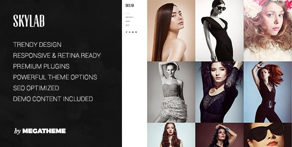 Skylab - Portfolio Photography WordPress Theme