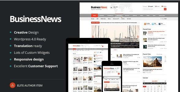 Business News - Responsive Magazine News Blog