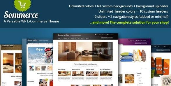 Sommerce Shop - A Versatile E-commerce Theme