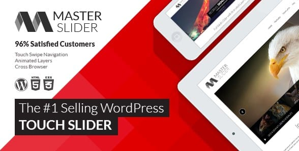 Master Slider - WordPress Responsive Touch Slider