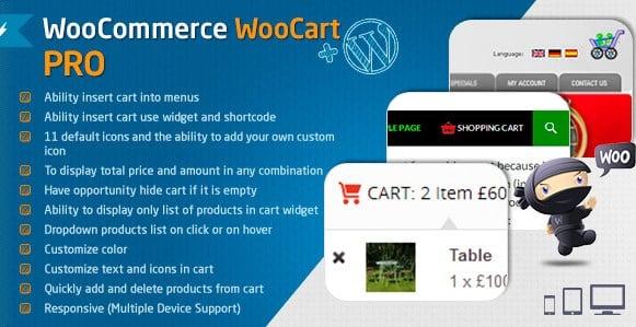 WooCommerce Cart - WooCart Pro