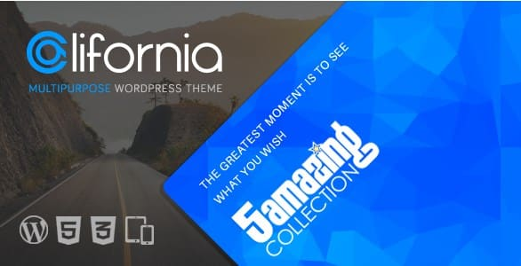 California - Multipurpose WordPress Theme