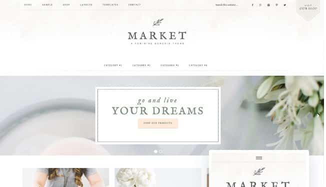 StudioPress Market Theme