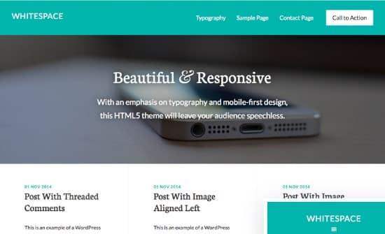 StudioPress Whitespace Pro Theme
