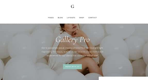 StudioPress Gallery Pro Theme