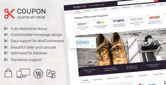 MyThemeShop Coupon WordPress Theme