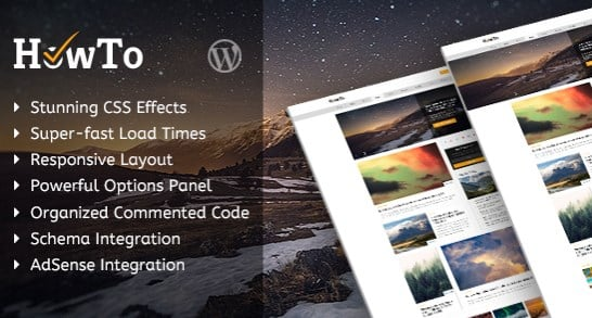 MyThemeShop HowTo WordPress Theme