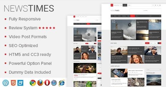 MyThemeShop NewsTimes WordPress Theme