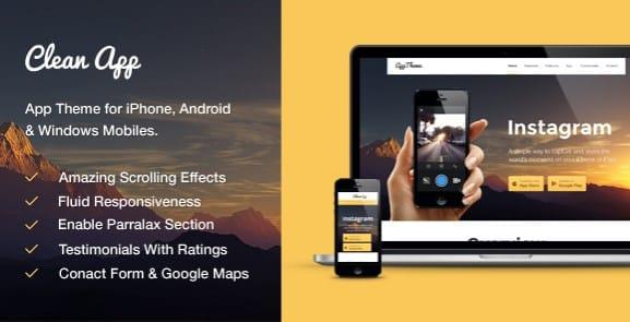 MyThemeShop CleanApp WordPress Theme