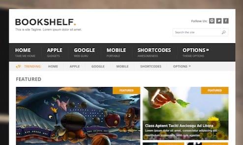 MyThemeShop BookShelf WordPress Theme
