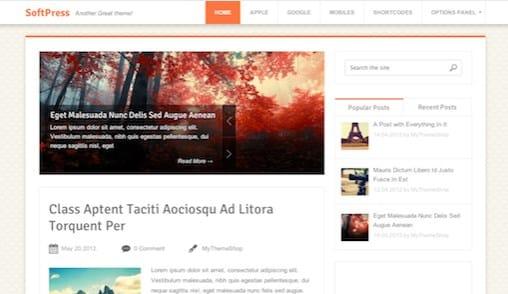 MyThemeShop SoftPress WordPress Theme