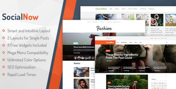 MyThemeShop SocialNow WordPress Theme