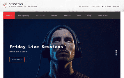 CSS Igniter Sessions WordPress Theme