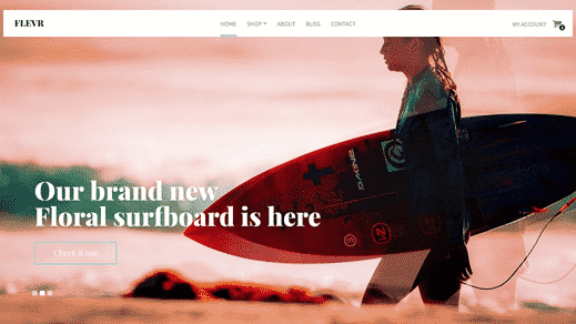CSS Igniter Flevr WordPress Theme