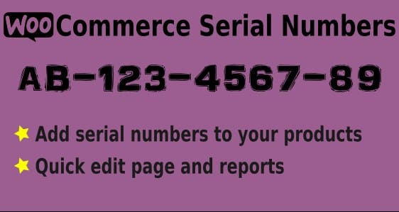 WooCommerce Serial Numbers WordPress Plugin