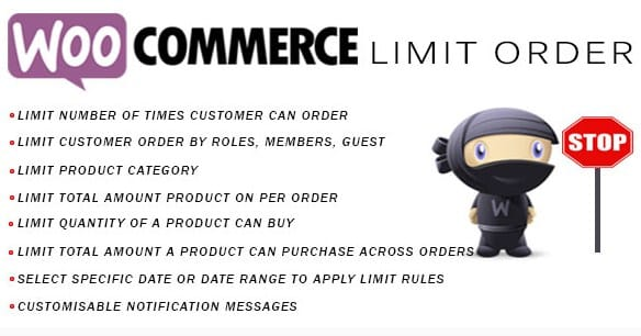 Woocommerce Limit Order