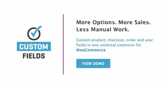 WooCommerce Custom Fields