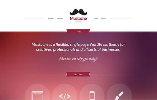 CSS Igniter Mustache WordPress Theme