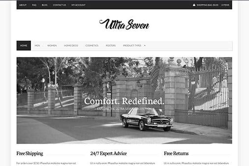 CSS Igniter UltraSeven WordPress Theme