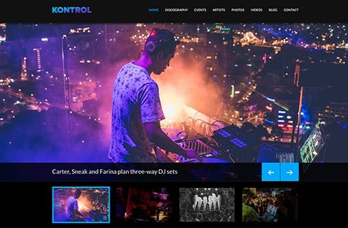 CSS Igniter Kontrol WordPress Theme