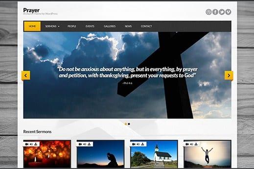 CSS Igniter Prayer WordPress Theme