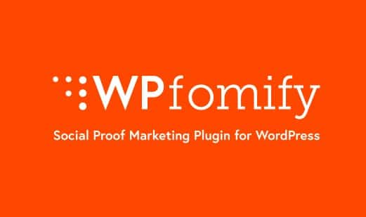 WPfomify Wordpress Plugin
