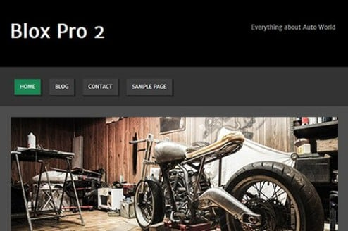CyberChimps Blox Pro 2 WordPress Theme