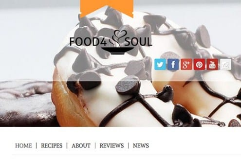 CyberChimps Food 4 Soul WordPress Theme