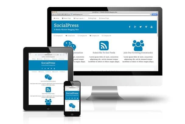 CobaltApps SocialPress Skin for Dynamik Website Builder