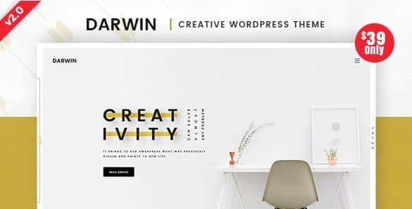 Darwin - Creative WordPress Theme